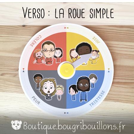 Roue des émotions - verso - Bougribouillons