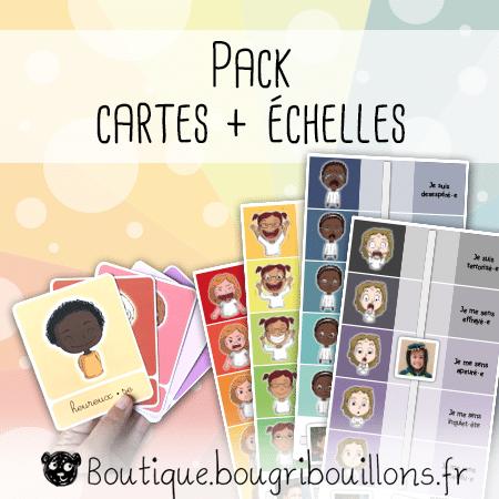 Pack émotions - Cartes + Échelles