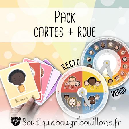 Pack émotions - Cartes + Roue