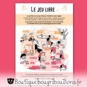 Jeu libre partie 1 - V2 - Affiche Bougribouillons Petite enfance