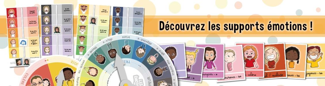 Les outils émotions - Éditions Bougribouillons