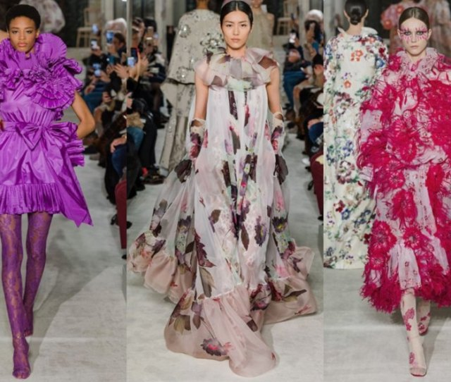 Valentino Spring Summer  Haute Couture Collection Paris