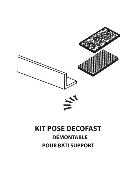 decofast kit pose pour bati support