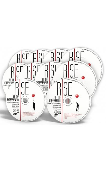 PACK 10 DVDS RISE : LA MONTEE DES ENTREPRENEURS