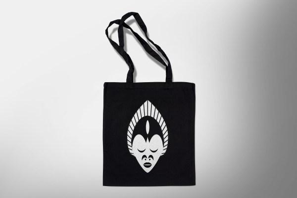 LA BLACK TOTEBAG masque