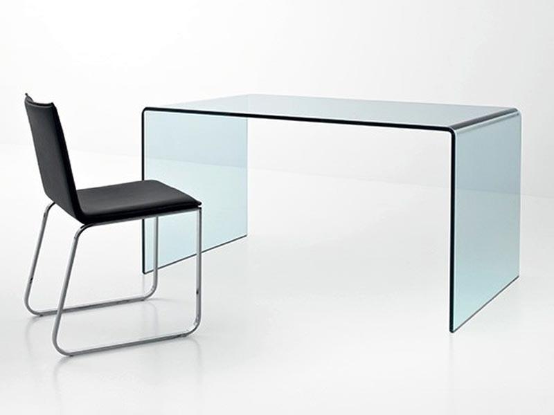 bureau en verre bureau design en verre