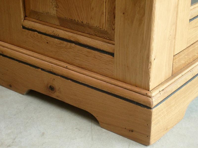 meuble tv en bois massif berry