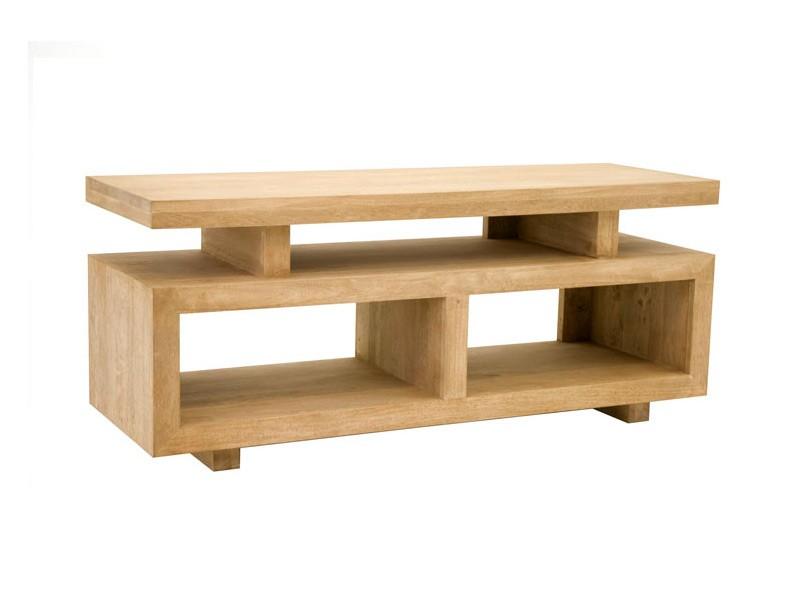 meuble tv contemporain holly 3 plateaux