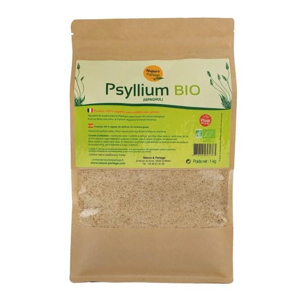 psyllium blond bio 1 kg
