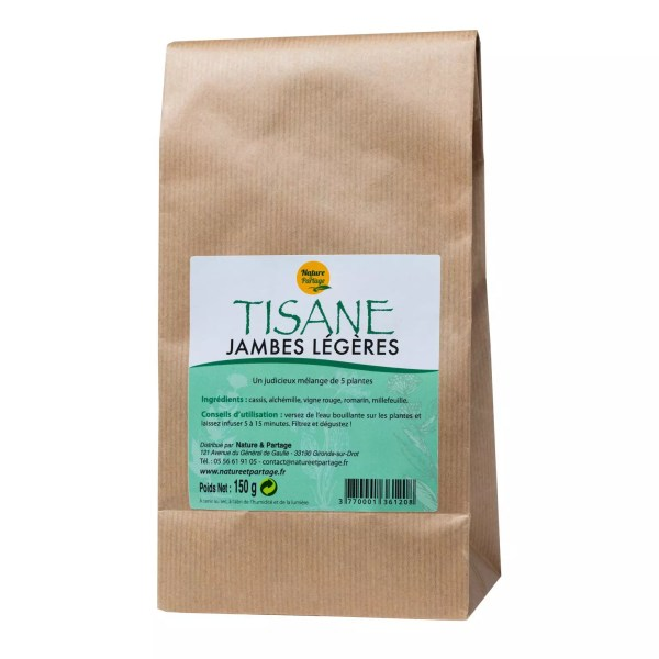 Tisane pour jambes légères
