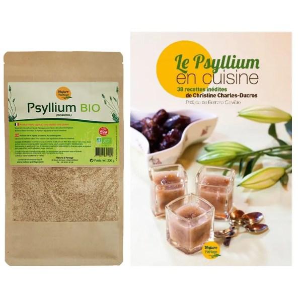 pack psyllium en cuisine