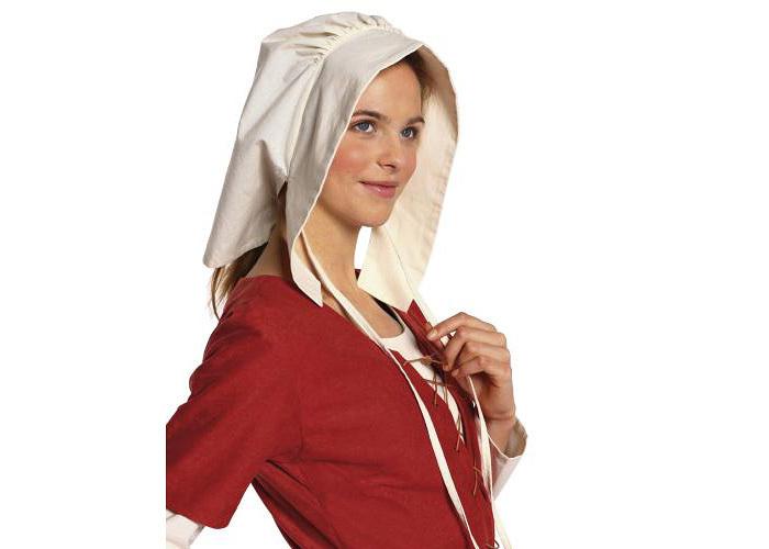 Patron robe  bonnet du moyen ge  Patron Burda 7468