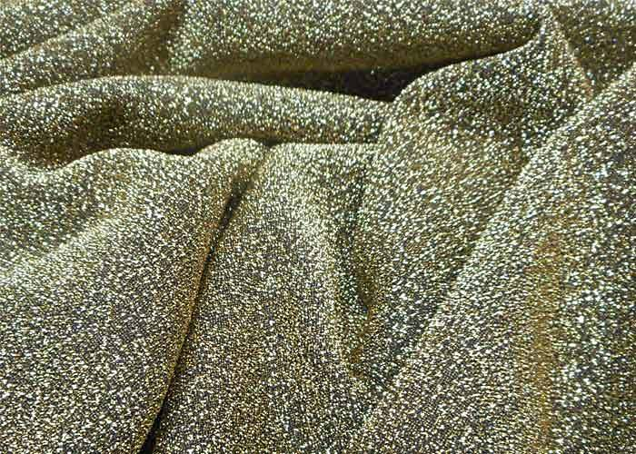 Tissu brillant  Tissu polyester brillant