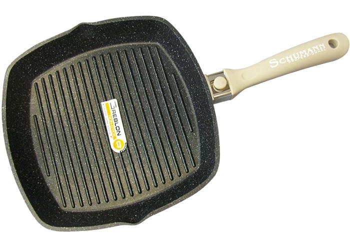 grill viande beige 28 cm mooove schumann professionnel