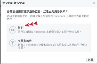 Facebook廣告投放技巧─影片互動投放法3