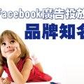 Facebook廣告投放技法─品牌知名度
