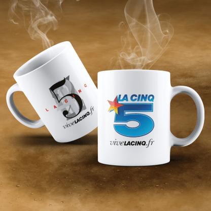 Mug 2 Logos La Cinq