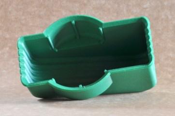 Peça impressa em plástico ABS com máquina de tecnologia FFF.