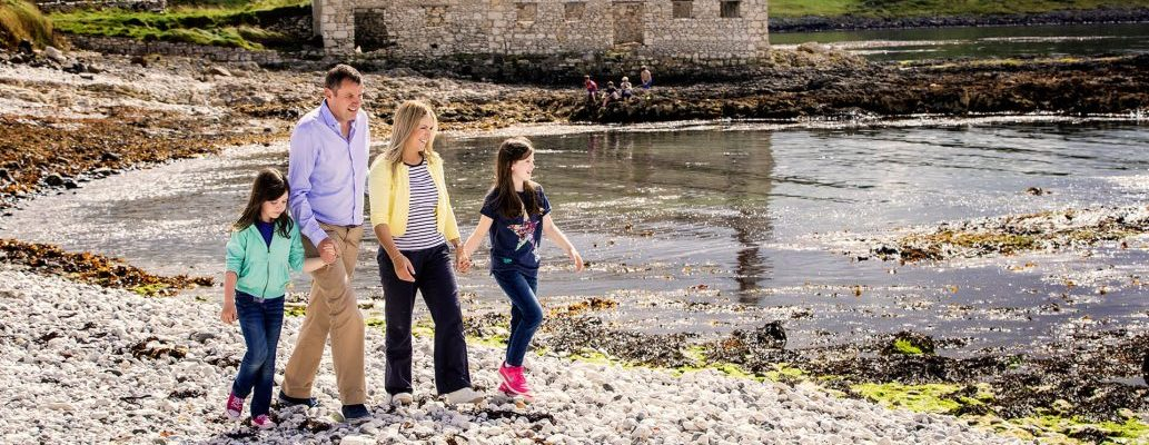 Enjoy precious time with a family boutique bed and breakfast or luxury self catering break
