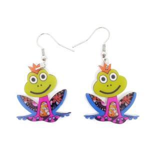 Boucles d'oreilles grenouille