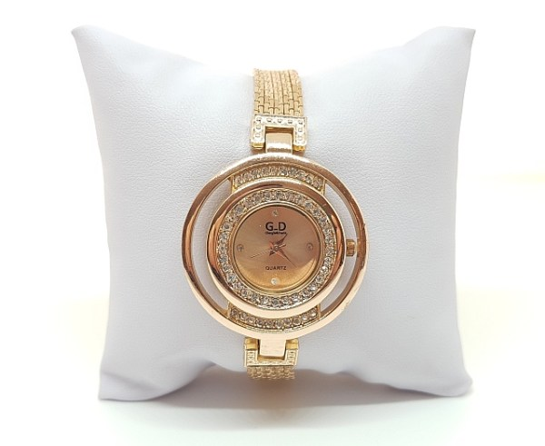 Montre bracelet métal rose gold