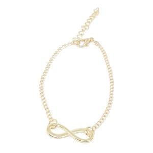 Bracelet motif à l'infini - doré