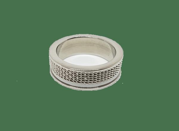 Bague Céramique acier