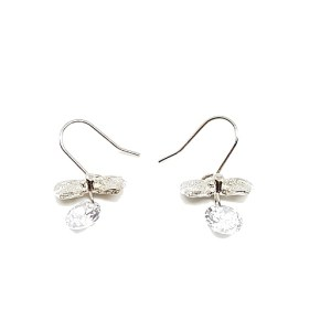 Boucles d'oreilles nœud papillon