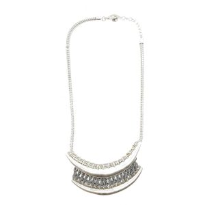 Collier antique gris