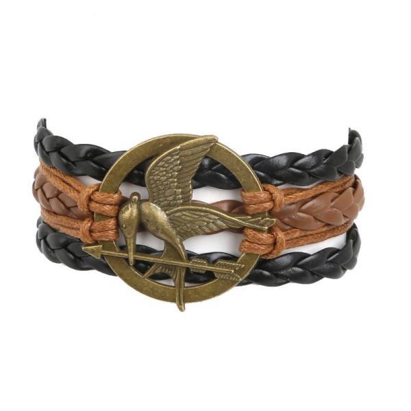 Bracelet Harry Potter tressé phénix