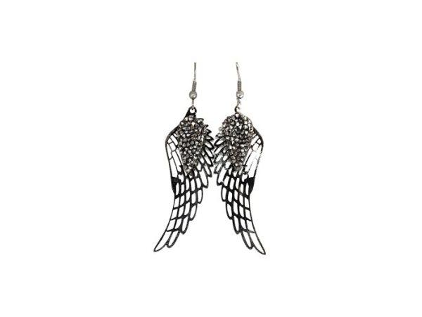 boucles d'oreilles ailes d'ange