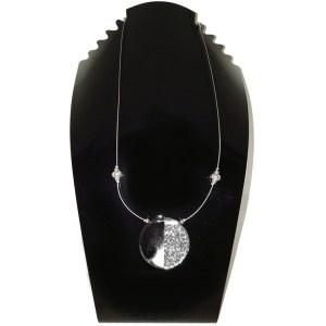 collier pendentif résine