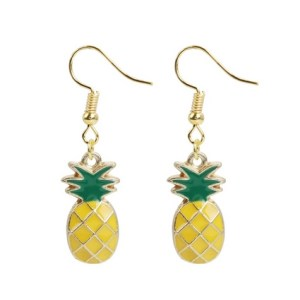 Boucles d'oreilles petits ananas