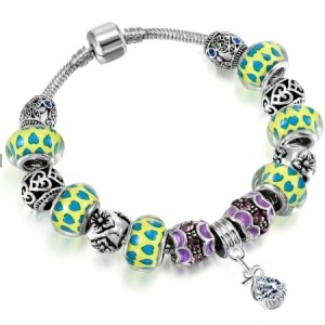 bracelet murano coeur