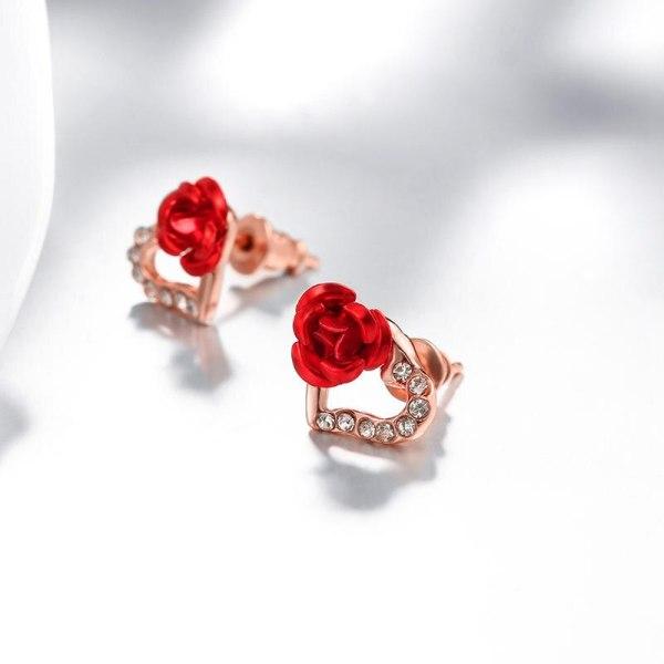 boucles d'oreilles coeur roge rose.jpeg