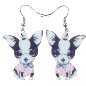 Boucles d'oreilles bébé chihuahua