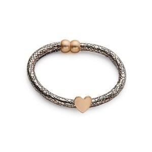 Bracelet porte bonheur cœur