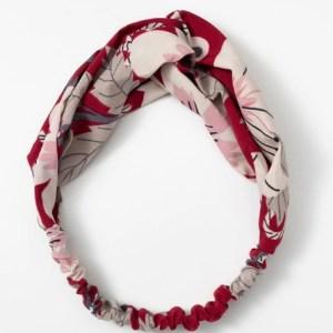 headband blanc rouge
