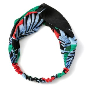 headband bleu rouge vert