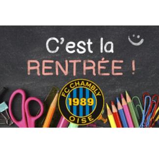 RENTRÉE DES CLASSES