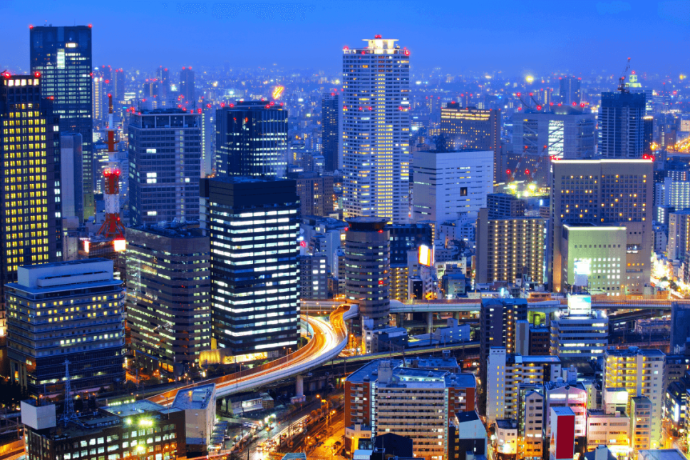 Osaka nightlife. Two Weeks in Japan, A Perfect Itinerary by Boutique Japan