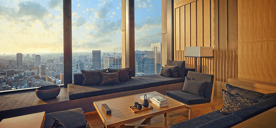 Inside the Aman resort in Tokyo, Japan