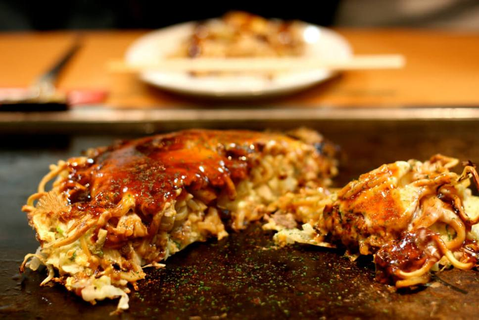 Okonomiyaki. You Have To Eat These Dishes in Osaka, by Boutique Japan.