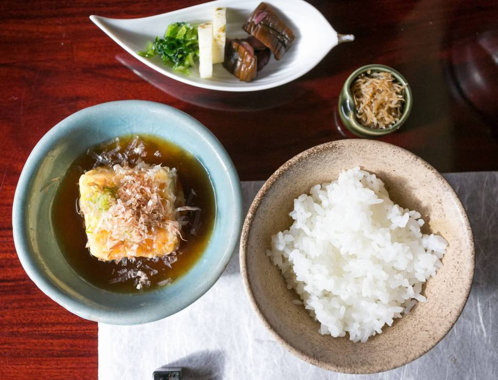Tofu at Shoraian, Kyoto. You Have to Eat These Dishes in Kyoto, by Boutique Japan.
