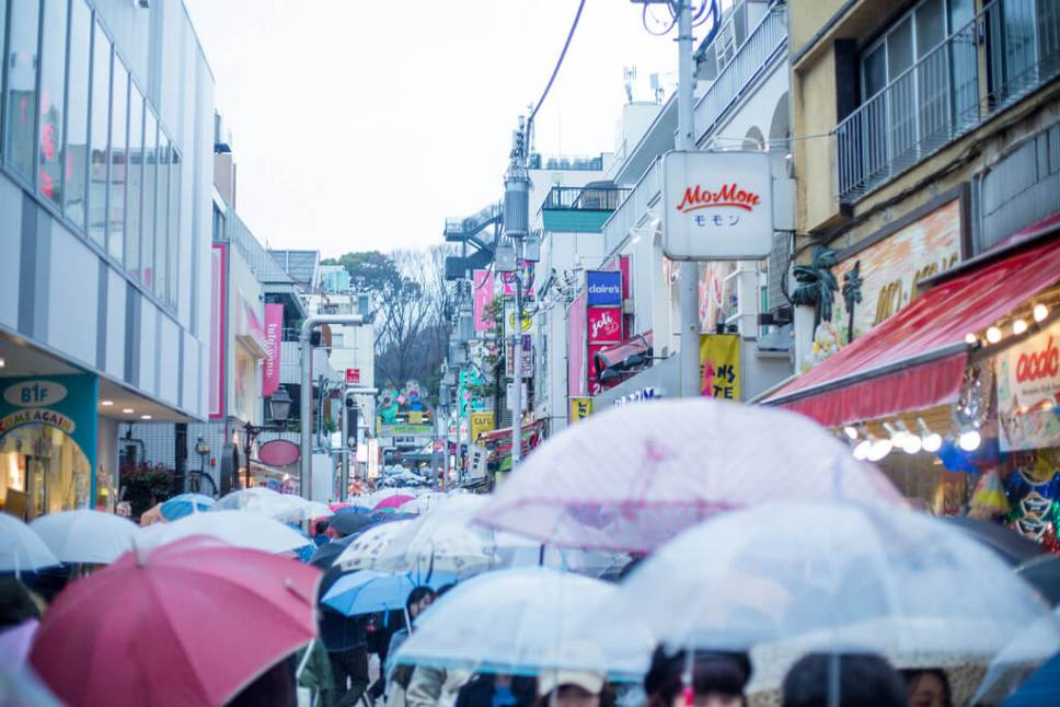 umbrellas in japan