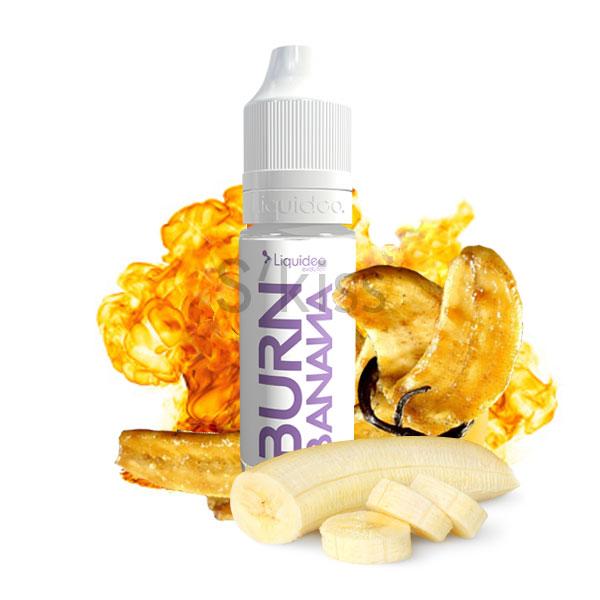 E-liquide burn banana saveur banane flambée par liquideo