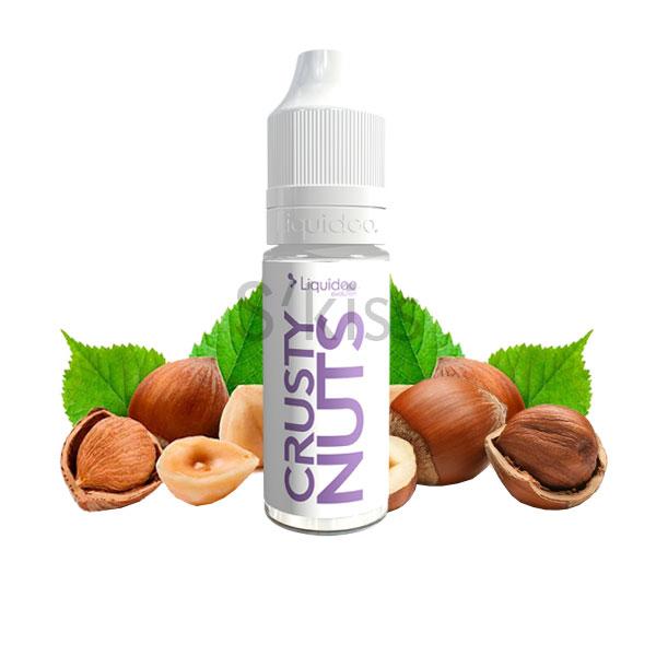 E-liquide crusty nuts saveur noisette par Liquideo