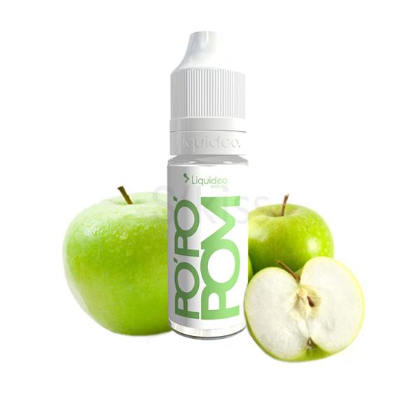 E-liquide fruité saveur Pomme, Po'po'pom de Liquideo Evolution - S'Kiss