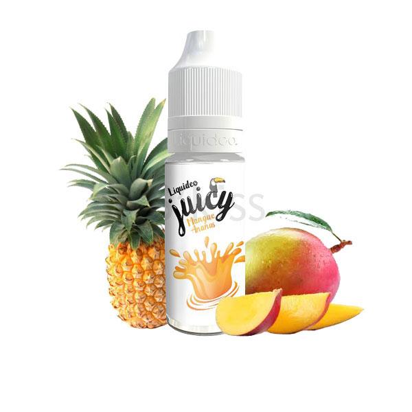mangue ananas 10ml liquideo tentation