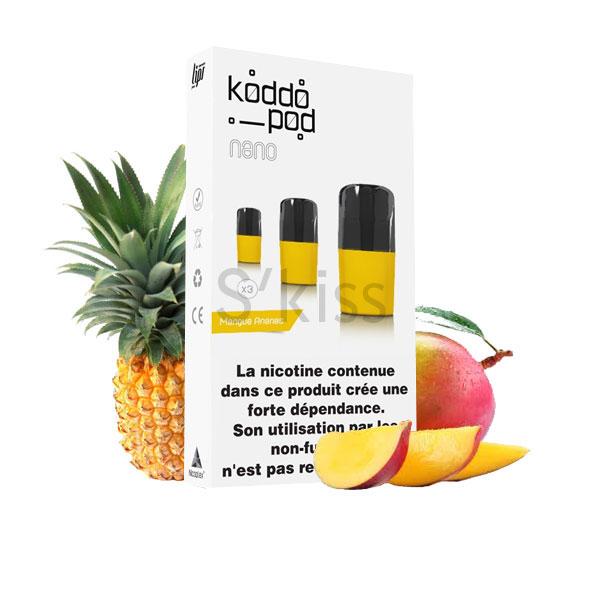 pod nano V2 mangue ananas par Le French Liquide